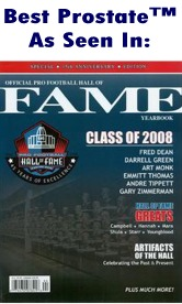 NFL Hall of Fame Program 2008 cover